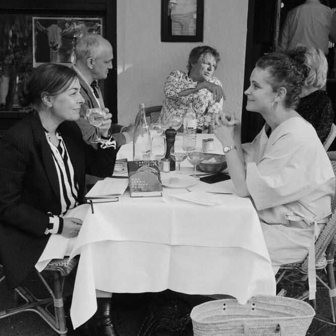 Moderation – Buchpremiere – Caroline Rosales – 14.9.2021