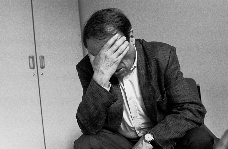 Pierre Bourdieu (1930 – 2002), aufgnommen 1993 in Paris. Von: Leonardo Antoniadis